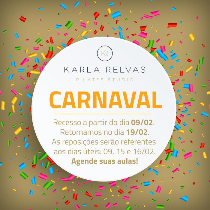 Recesso de Carnaval – Agende suas aulas!