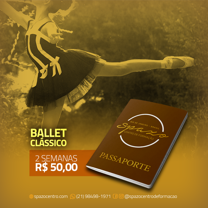 Passaporte Spazo – Ballet Clássico