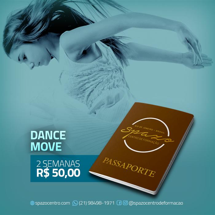 Passaporte Spazo – Dance Move