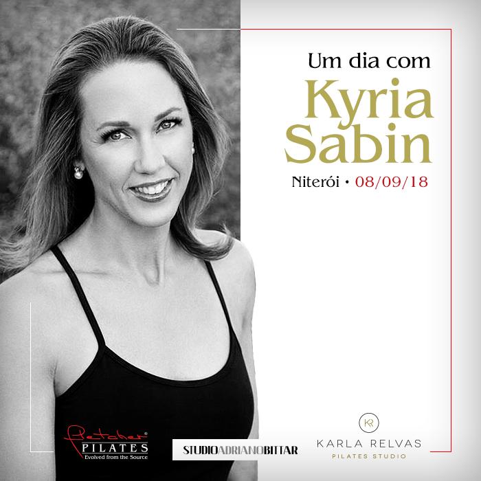Um dia com Kyria Sabin em Niterói