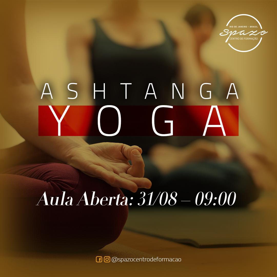 Aula aberta de Ashtanga Yoga no Spazo – 31/08