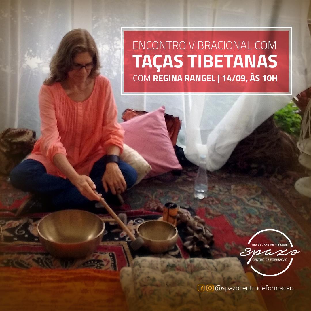 Encontro Vibracional com Taças Tibetanas